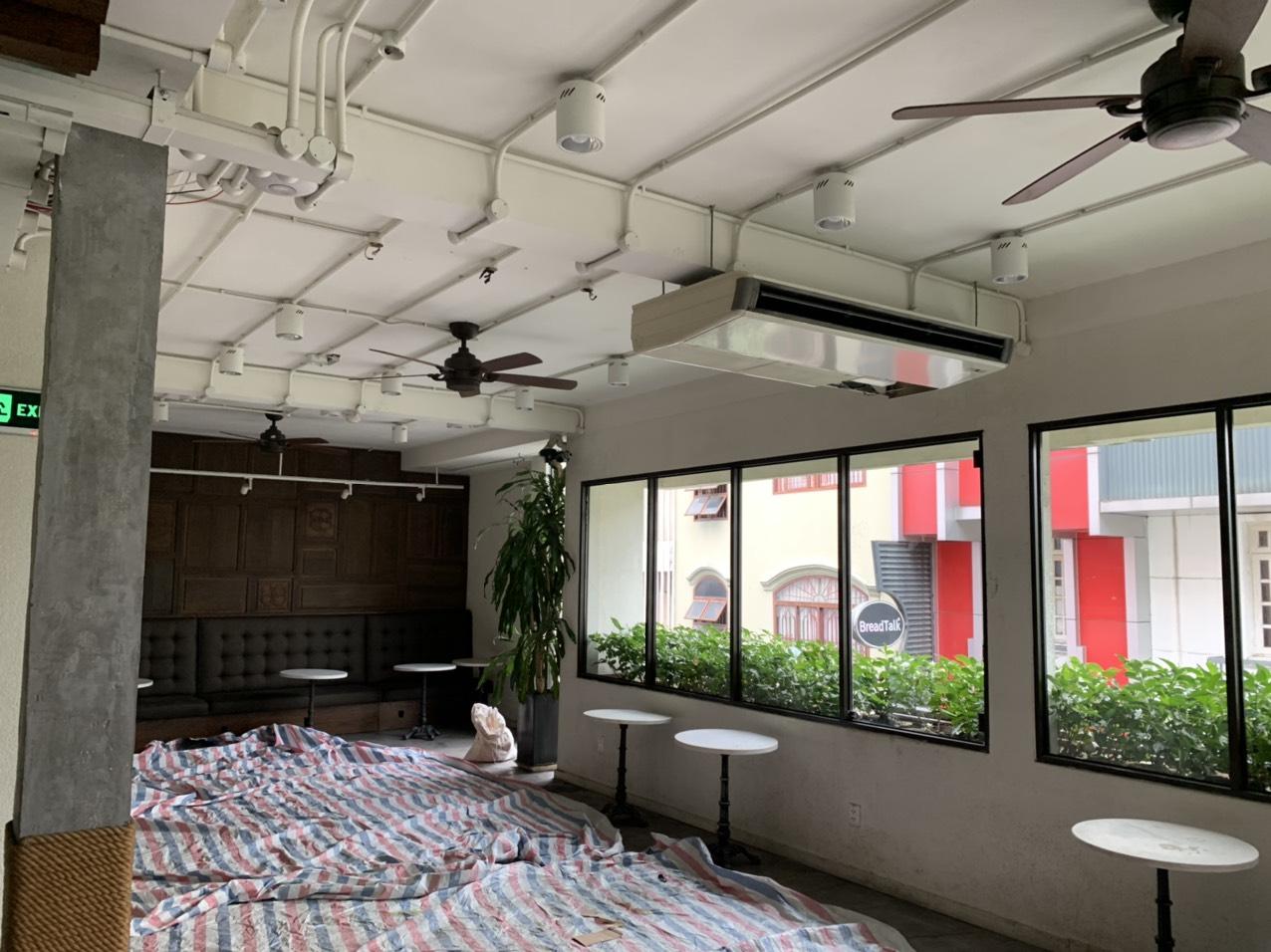 Hình ảnh thi công bảo trì và nâng cấp tại Starbucks
