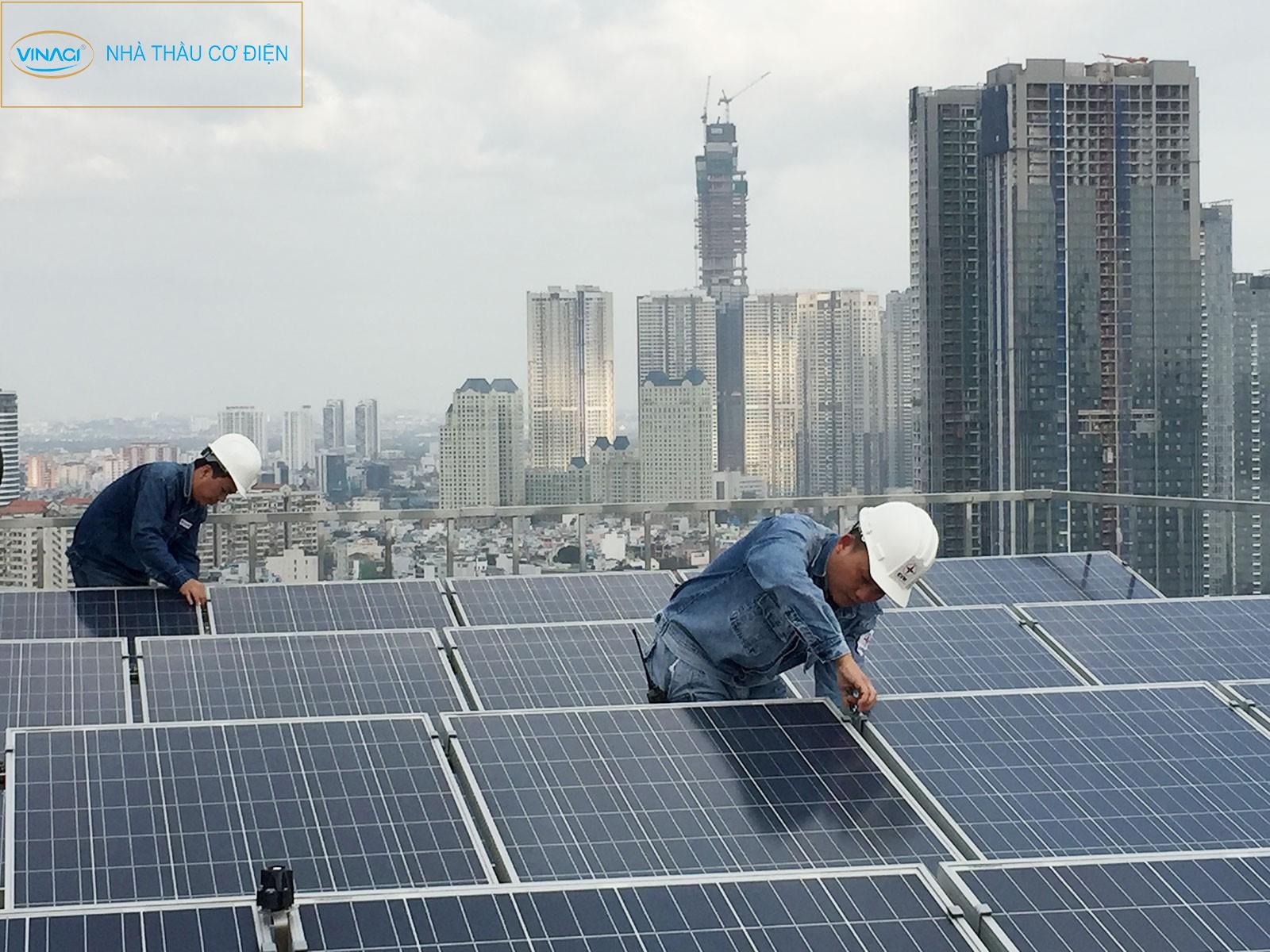 Giá điện mặt trời