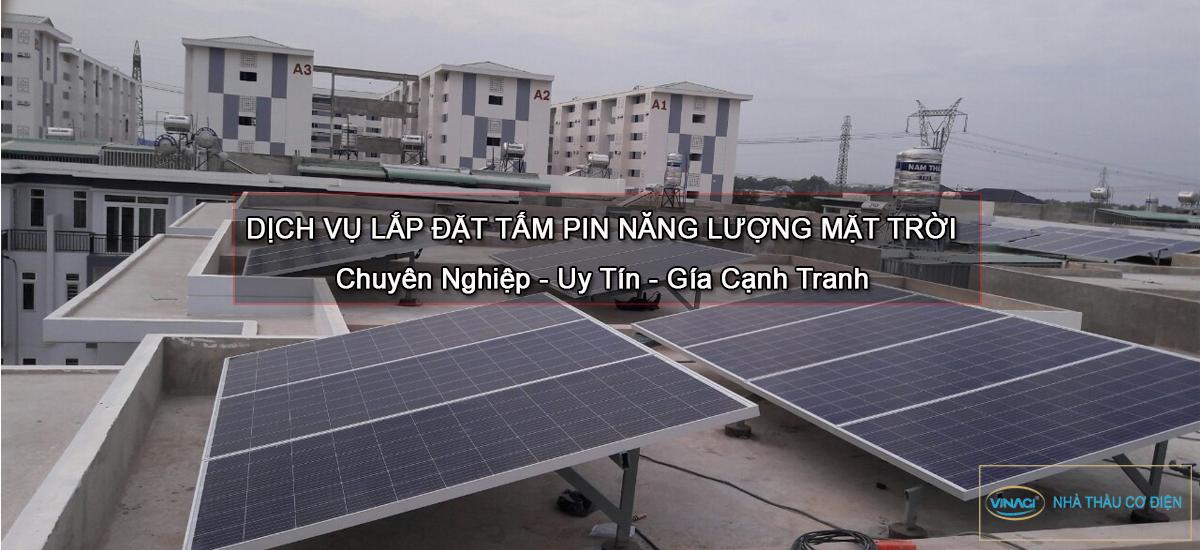 lắp điện mặt trời cho hộ gia đình