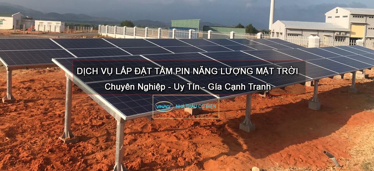 Lưu ý khi lắp hệ thống điện năng lượng mặt trời