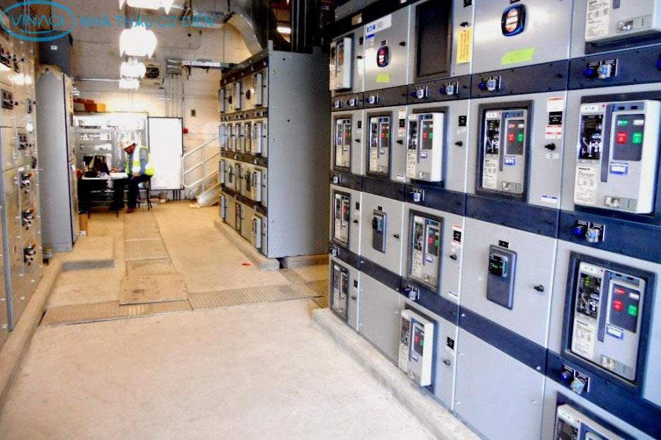 nhà thầu điện công nghiệp và dân dụng